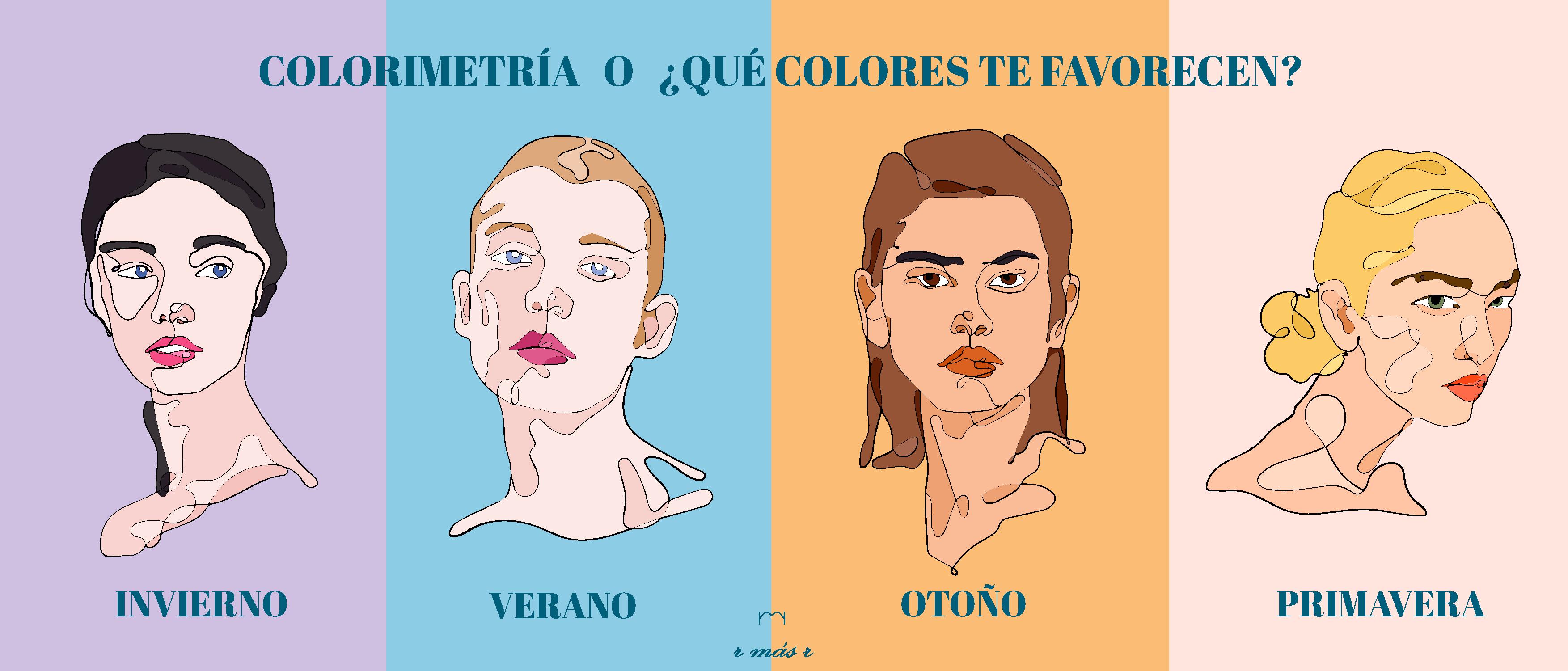Los colores que mejor te sientan, colorimetría